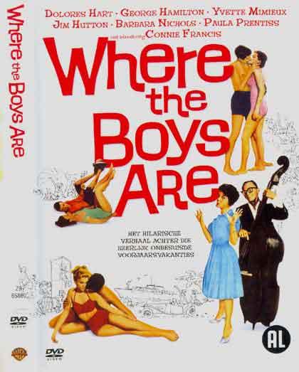 """Resultado de imagem para atriz  Dolores Hart,""""Where the Boys Are"""""""